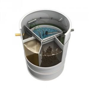 Едно-фамилна пречиствателна станция за отпадни води АТ008-РЕ