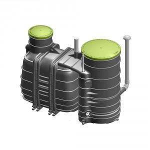 Пречиствателна станция за отпадни води Biorock MONOBLOCK 2-1000