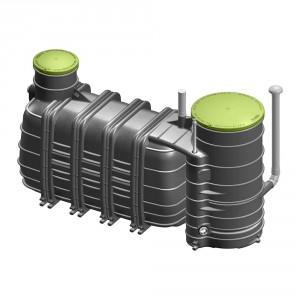 Пречиствателна станция за отпадни води Biorock MONOBLOCK 3-1000-LO