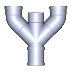 Y-съединение за BIOROCK , Ø 110 мм