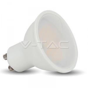 LED Крушка 3W GU10 SMD пластик 3000K 110°