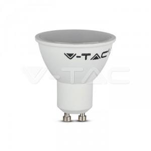 LED Крушка 5W GU10 SMD пластик топла бяла