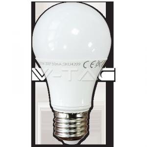 LED Крушка 9W A60 E27 пластик 2700К 7260