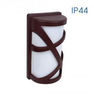 Влагозащитен аплик MAUI 1 X E27 BW IP44 , кафяв
