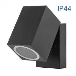 Влагозащитен аплик SEOUL/W 1 X GU10 BK IP44