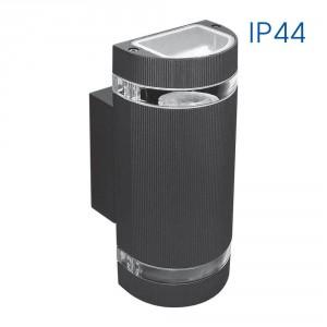 Фасадно осветително тяло TALIN 2XGU10 BK IP44