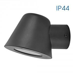 Влагозащитен фасаден аплик OSAKA/W 1 X GU10 BK IP44