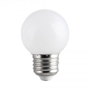 LED лампа COLORS LED G45 1W E27 WW 2700K