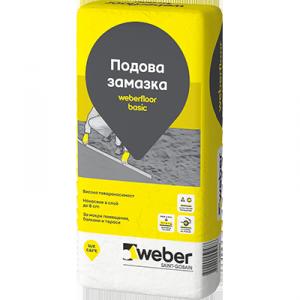 Циментова замазка weberfloor basic L300 , 25 кг.