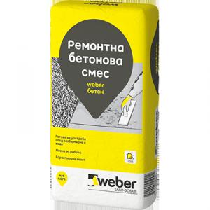 Суха смес за приготвяне на бетонов разтвор weber Бетон B100 , 25 кг.