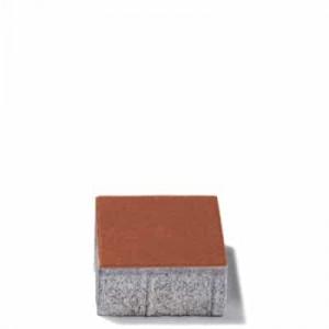 Настилка Rettango червена , 10 / 10 / 6 см.