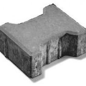 Настилка Behaton сив , 20 / 16,5 / 8 см.