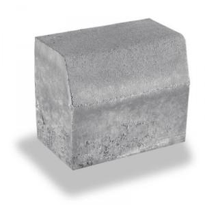 Пътен, магистрален бордюр сив , 50 / 18 / 35 см.