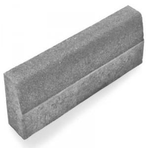 Пътен, магистрален бордюр сив , 50 / 8 / 16 см.