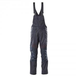 Полугащеризон  с еластични вложки и  джобове за наколенки тъмно син, размери 76С46 - 90С62