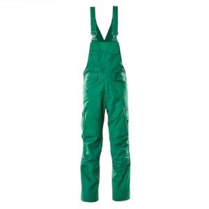 Полугащеризон  с еластични вложки и  джобове за наколенки зелен , размери 76С46 - 90С62