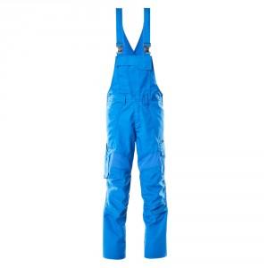 Полугащеризон  с еластични вложки и  джобове за наколенки морско син , размери 76С46 - 90С62