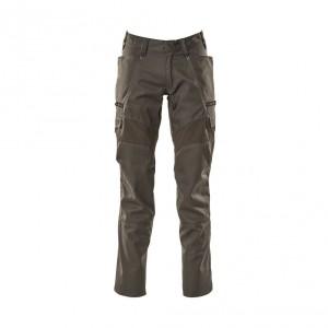 Панталон с еластични вложки и бедрени джобове тъмен антрацит , размери 76С46 - 90С62