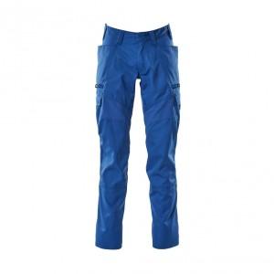 Панталон с еластични вложки и бедрени джобове морско син , размери 76С46 - 90С62