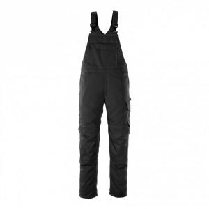 Полугащеризон  с джобове за наколенки черен , размери 76С46 - 90С62