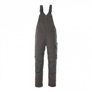 Полугащеризон  с джобове за наколенки тъмен антрацит , размери 76С46 - 90С62
