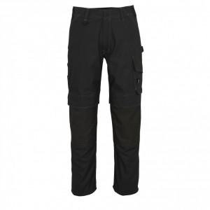 Панталон с джобове за наколенки тъмен антрацит , размери 76С46 - 90С62