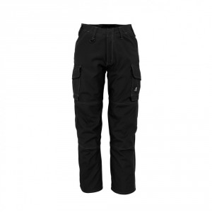 Панталон  с бедрени джобове черен , размери 76С46 - 90С62