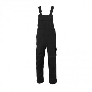 Полугащеризон  с джобове за наколенки MASCOT® Newark черен , размери 76С46 - 90С62