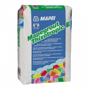 Разтвор с фибри за саниране на бетон Mapegrout Thixotropic Е , 25 кг.