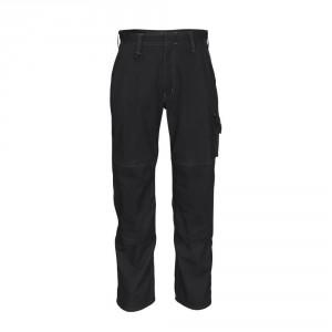 Панталон с джобове за наколенки MASCOT® Biloxi черен , размери 76С46 - 90С62